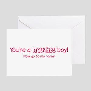 [Naughty Boy] Greeting Card